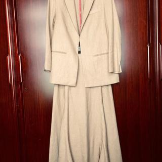ロンハーマン(Ron Herman)の新品タグ付き 新品タグ付き麻ジャケット➕新品麻スカートのセットアップ(セット/コーデ)