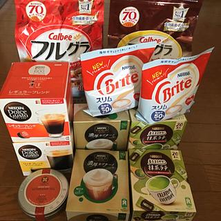 Nestle - フルグラ、ネスレドルチェ、ルピシア、ブライト、抹茶ラテ