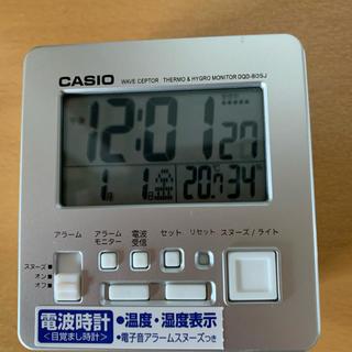 カシオ(CASIO)の電波時計 新品 目覚まし カシオ (置時計)