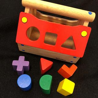 ファミリア(familiar)の【格安】 ファミリア  知育玩具 パズル 積み木familiar おもちゃ 在宅(知育玩具)