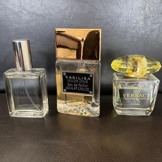 ヴェルサーチ(VERSACE)の香水3個セット【ジャックマルクス、ベルサーチ、ヴァシリーサ】(ユニセックス)