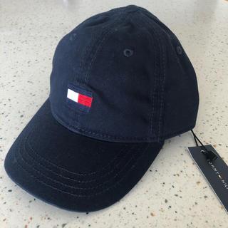 トミーヒルフィガー(TOMMY HILFIGER)のトミーヒルフィガー 2-4歳用 ネイビー キャップ(帽子)