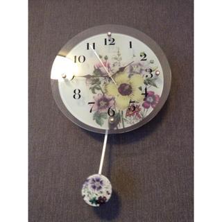 フランフラン(Francfranc)の電池式電波時計(掛時計/柱時計)