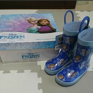 ディズニー(Disney)のアナ雪 15㎝ レインブーツ(ブーツ)