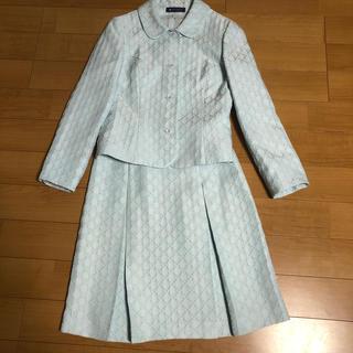 M'S GRACY - エムズグレイシー 水色のスーツ