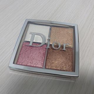 ディオール(Dior)のDior バックステージフェイスグロウパレット(フェイスカラー)