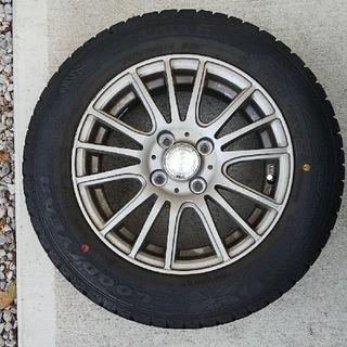 グッドイヤー(Goodyear)のグッドイヤー スタッドレスタイヤ&ホイール4本セット(タイヤ・ホイールセット)