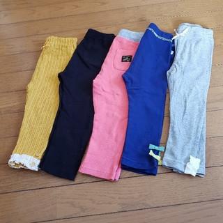 ユニクロ(UNIQLO)の女の子 レギンス パンツ 90 まとめ売り(パンツ/スパッツ)