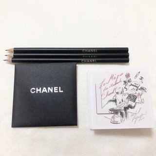 シャネル(CHANEL)の【珍しい★ゴールド文字】新品未使用♡CHANEL鉛筆(鉛筆)