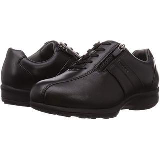 アシックス(asics)の[アシックスペダラ] 軽量クッションスニーカー ファスナー付き 23㎝ 4E(ローファー/革靴)