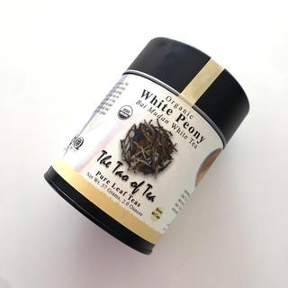 ディーンアンドデルーカ(DEAN & DELUCA)の新品未開封 オーガニック ホワイトティー 白茶 57g 缶 TWG クスミティー(茶)