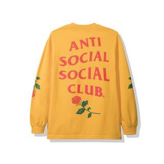アンチ(ANTI)のAnti Social Violets Blue LS Tee Yellow L(Tシャツ/カットソー(七分/長袖))