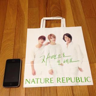 ネイチャーリパブリック(NATURE REPUBLIC)のJYJショップ袋(ショップ袋)