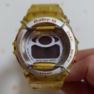 ベビージー(Baby-G)のBaby-G ロケット 宇宙 イエロー オレンジ レア CASIO(腕時計)