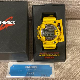 ジーショック(G-SHOCK)のGショックフロッグマン DW8250 イエロー(腕時計(デジタル))