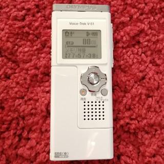 オリンパス(OLYMPUS)のオリンパス VoiceTrec V51 ボイスレコーダー(ポータブルプレーヤー)