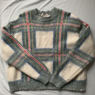 ステラマッカートニー(Stella McCartney)のstella mccartney ニット チェック セーター(ニット/セーター)