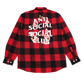 アンチ(ANTI)のAnti Social Club KKOCH FLANNEL Shirt M(シャツ)