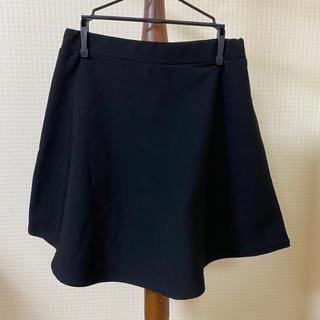 ジエンポリアム(THE EMPORIUM)のフレアスカート ミニスカート 黒スカート ブラックコーデ(ミニスカート)