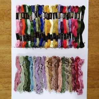 オリンパス(OLYMPUS)の刺繍糸 OLYMPUS★45本 43色セット  オリムパス 25番 刺しゅう糸(生地/糸)