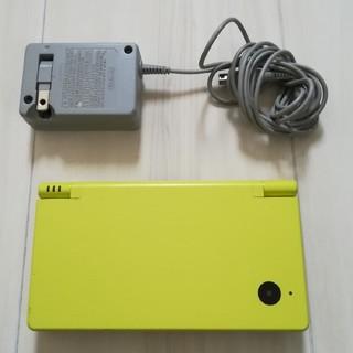 ニンテンドーDS(ニンテンドーDS)のDSi ライムグリーン 半ジャンク(携帯用ゲーム機本体)