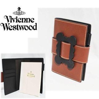 ヴィヴィアンウエストウッド(Vivienne Westwood)の《ヴィヴィアンウエストウッド》新品 A6収納可 レザーブックカバー 男女兼用(ブックカバー)