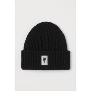 エイチアンドエム(H&M)のニット帽ビリーアイリッシュ リフレクター ニット帽(ニット帽/ビーニー)