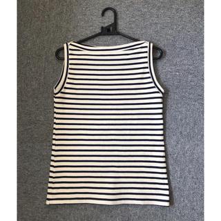 エミスフィール(HEMISPHERE)のHEMISPHERES ボーダーカットソー フリーサイズ(Tシャツ(半袖/袖なし))