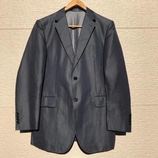 アレグリ(allegri)のallegri アレグリ ジャケット ネイビー グレー 48 L(テーラードジャケット)