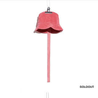 ピースマイナスワン(PEACEMINUSONE)のPMO CORDUROY BUCKET HAT #1 PIGMENT (ハット)
