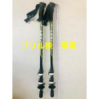 レキ(LEKI)のLEKIトレッキングポール カムロック(登山用品)