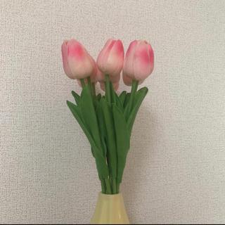 チューリップ 造花 ブーケ インテリア(ブーケ)