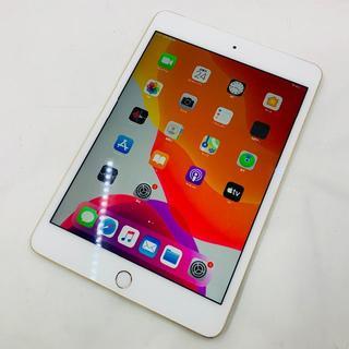 アイパッド(iPad)のバッテリー95% SIMフリー ipad mini4 16GB ゴールド 740(タブレット)