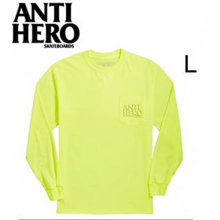 アンチヒーロー(ANTIHERO)のANTIHERO「Lil Drophero L/S T-shirt」(Tシャツ/カットソー(七分/長袖))