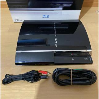 プレイステーション3(PlayStation3)のプレイステーション3 FW3.55 初期型60GBモデル プレステ3(家庭用ゲーム機本体)