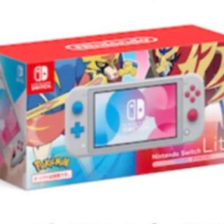 ニンテンドースイッチ(Nintendo Switch)の任天堂スイッチポケモン(家庭用ゲーム機本体)
