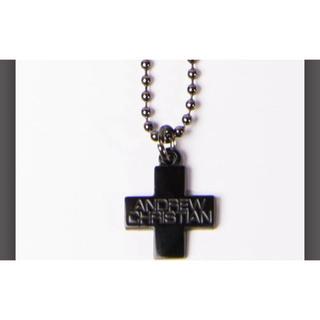 アンドリュークリスチャン(Andrew Christian)のac-8199*F(ブラック)(ネックレス)