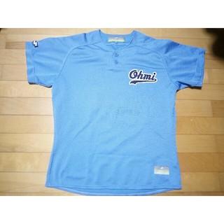 エスエスケイ(SSK)のジャンゴ様専用 近江高校 ベースボールTシャツ 高校野球 ユニフォーム 水色(ウェア)