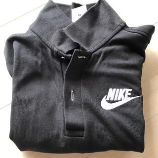 ナイキ(NIKE)の最終‼️ナイキ ポロシャツ ブラック(シャツ/ブラウス(長袖/七分))