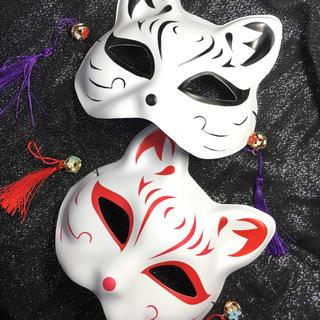 狐のお面♡喜多川祐介♡フォックス♡浴衣♡祭♡泣きたい私は猫をかぶる♡鬼滅(小道具)
