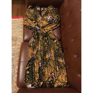 60年代 vintage ヴィンテージ ドレス ドイツ製(ロングワンピース/マキシワンピース)