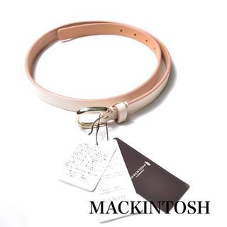 マッキントッシュ(MACKINTOSH)の【新品タグ付き】MACKINTOSH マッキントッシュロンドン 牛革 ベルト(ベルト)