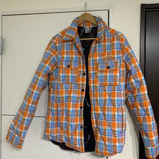 チャムス(CHUMS)の最終値下 チャムス  ダウンシャツ キルティングジャケット メンズM(ナイロンジャケット)