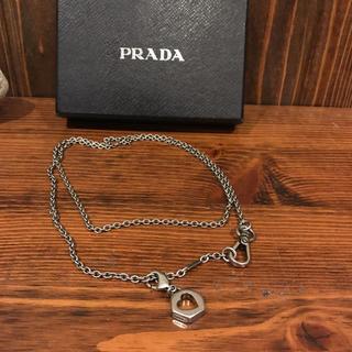 プラダ(PRADA)のプラダ PRADA  財布キーチェーン ハート ネックレス 非売品 ノベルティー(キーホルダー)