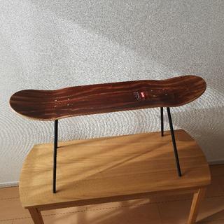 シュプリーム(Supreme)のSupreme スケートボード 足付セット ローテーブル カスタム インテリア(ローテーブル)
