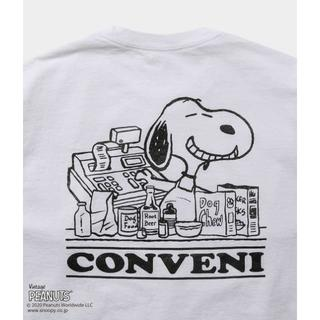 フラグメント(FRAGMENT)の【白 Lサイズ】THE CNVN PEANUTS LONG SLEEVE TEE(Tシャツ/カットソー(七分/長袖))