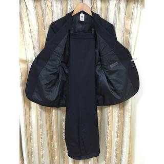 アオヤマ(青山)の洋服の青山 RITORNO 濃紺 ネイビーの セットアップスーツ A4サイズ(セットアップ)