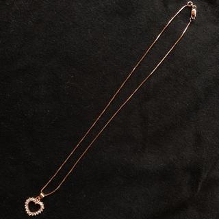 アヴァランチ(AVALANCHE)のローズゴールド アヴァランチ レディース ネックレスセット 40cm(ネックレス)