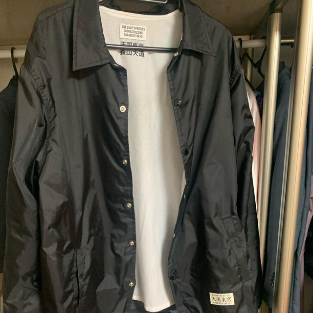 WACKO MARIA(ワコマリア)のwacko maria 森山大道 コーチジャケット 天国東京 ワコマリア メンズのジャケット/アウター(ナイロンジャケット)の商品写真