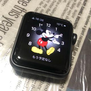 アップルウォッチ(Apple Watch)の【みいにゃん様用】Apple Watch series3 38mm【除菌済】(腕時計(デジタル))